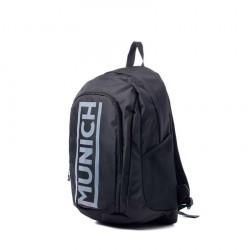 Complementos MUNICH mochila negra rucksack compartimeto portàtil