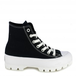Zapatillas lona Converse chuck taylor all star lugged negras - Querol online