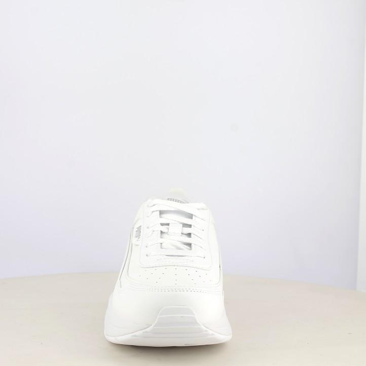 Botins de taló Puma blanques amb cordons model cilia mode - Querol online