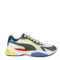Zapatillas deportivas Puma blancas con cordones ascend lite - Querol online