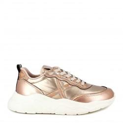 Zapatillas deportivas MUNICH rosado con cordones wave 22