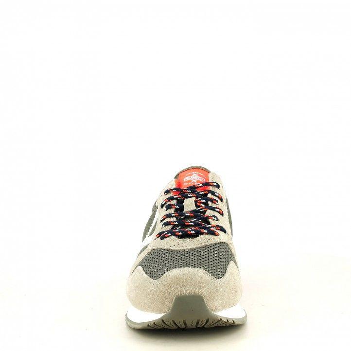Zapatillas deportivas MUNICH azul con amarillo fluor massana 361 - Querol online