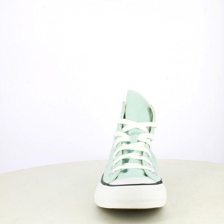 Zapatillas lona Converse verde chuch taylor all star altas - Querol online