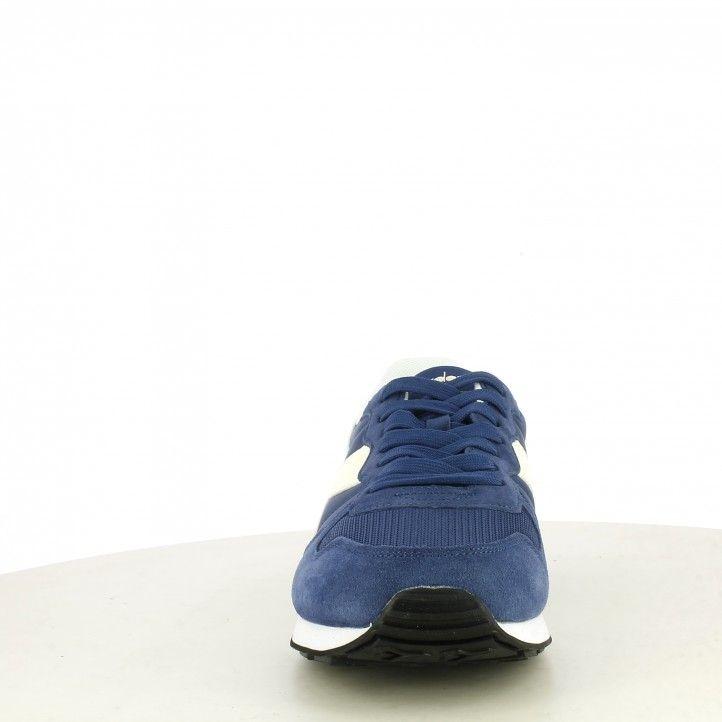 Sabatilles esportives Diadora blau i blanc amb cordons camaro - Querol online