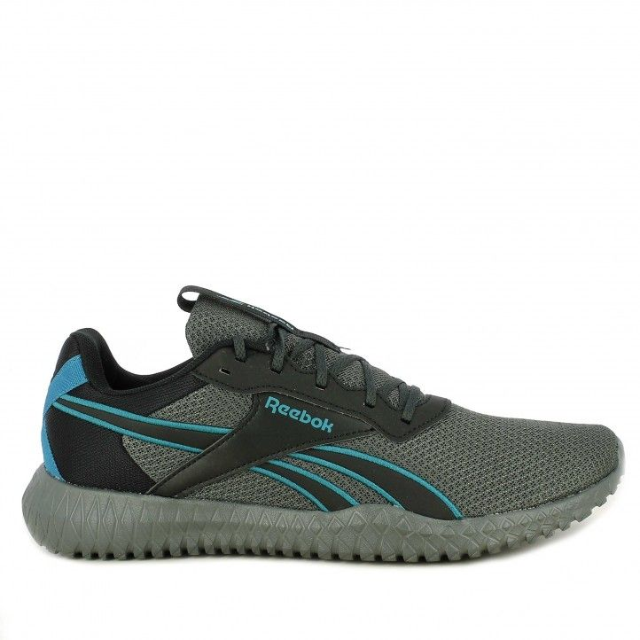 Zapatillas deportivas Reebok negro con cordones energy fv6660 - Querol online