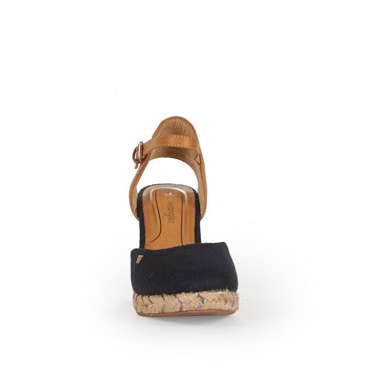 Sandàlies falca Wrangler jeans fosc - Querol online