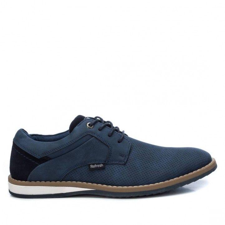 Zapatos vestir Refresh 069380 con cordones y suela de goma - Querol online
