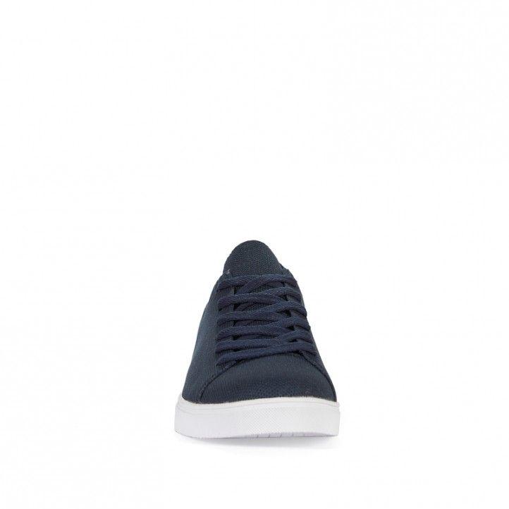 Sabatilles lona ECOALF blaves amb sola blanca - Querol online