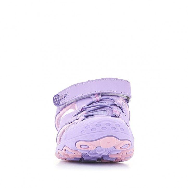 sandalias QUETS! con combinaciones de lila - Querol online