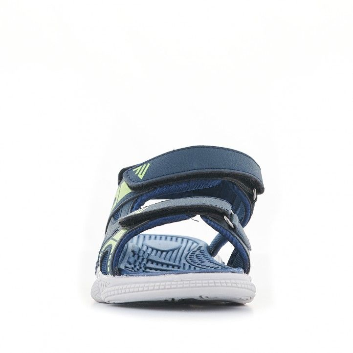 sandàlies QUETS! blaves marí i verdes - Querol online