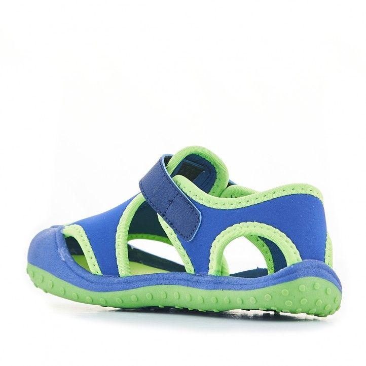 xancletes QUETS! blaves i verds de piscina - Querol online