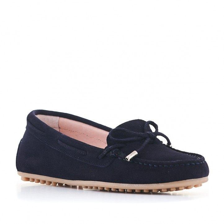 Zapatos planos Redlove azul oscuro - Querol online