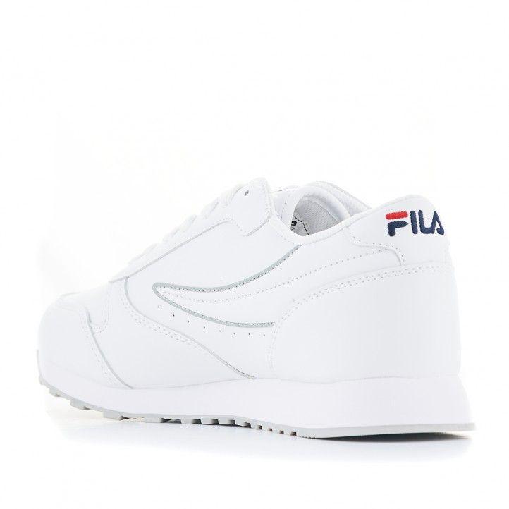 Zapatillas deportivas Fila Orbit low blanca - Querol online