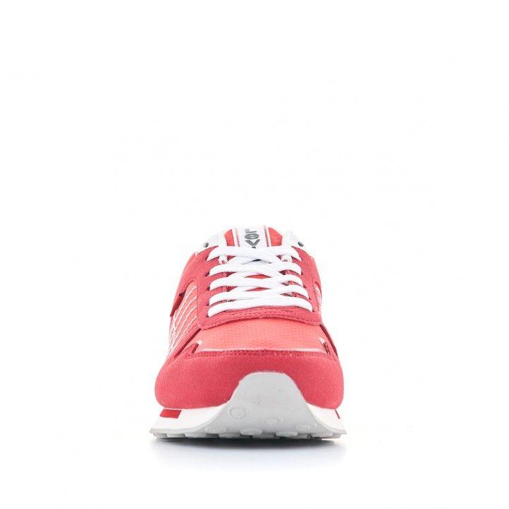Sabatilles esportives Levi's vermelles amb cordons blancs - Querol online