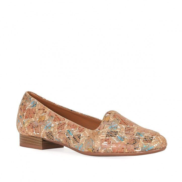 Zapatos planos Redlove estampado con tacón bajo - Querol online