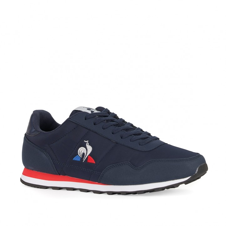 Zapatillas deportivas Le Coq Sportif azul marino con logotipo en blanco - Querol online