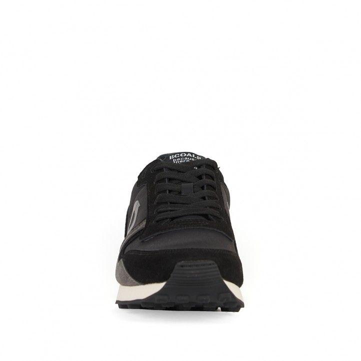 Sabatilles esportives ECOALF negres amb parts grises - Querol online
