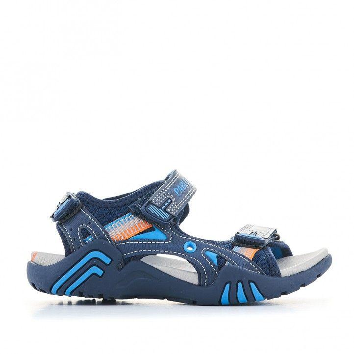 sandàlies Pablosky blaves fosc amb detalls en clar - Querol online