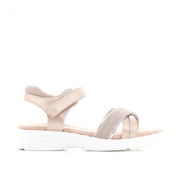 sandàlies K-TINNI amb disseny metal·litzat - Querol online
