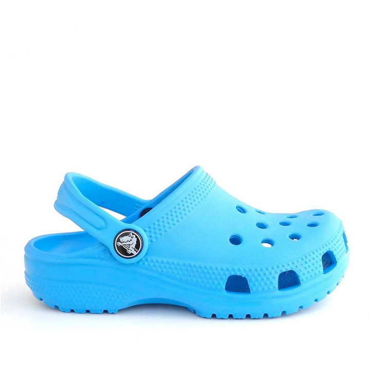 chanclas Crocs azules