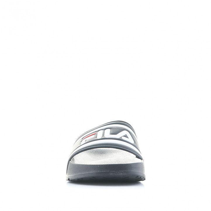 Xancles Fila negres amb logo en pala - Querol online