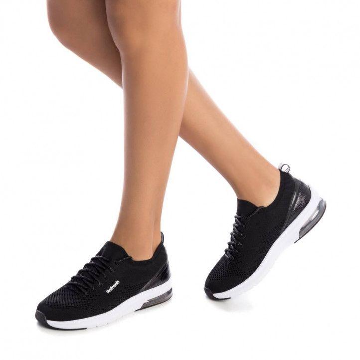 Zapatillas deportivas Refresh 069686 negras - Querol online