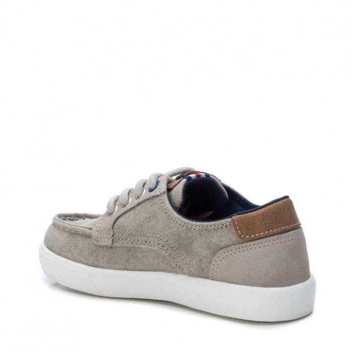 Zapatillas lona XTI KIDS color beige - Querol online