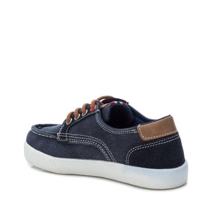 Zapatillas lona XTI KIDS diseño denin - Querol online