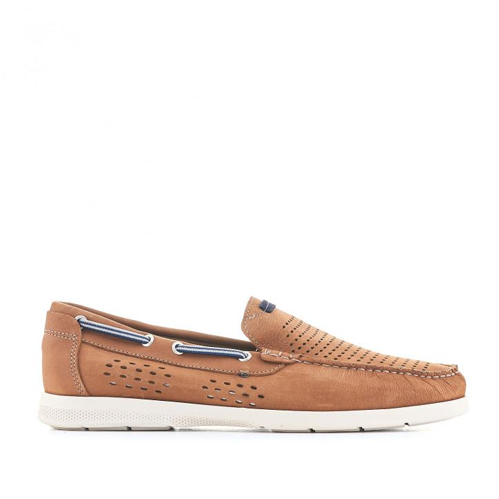 Zapatos vestir DJSANTA de piel perforada - Querol online
