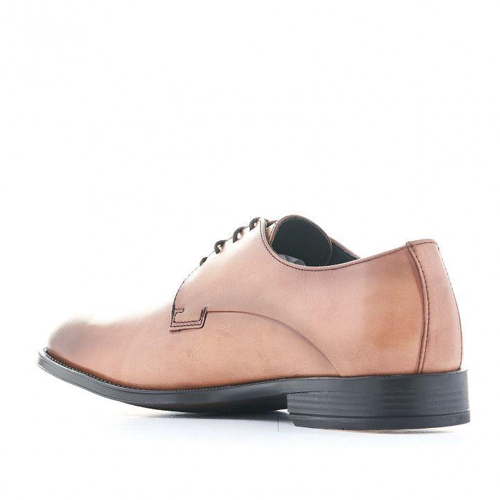Zapatos vestir Baerchi marrones con corte clásico - Querol online