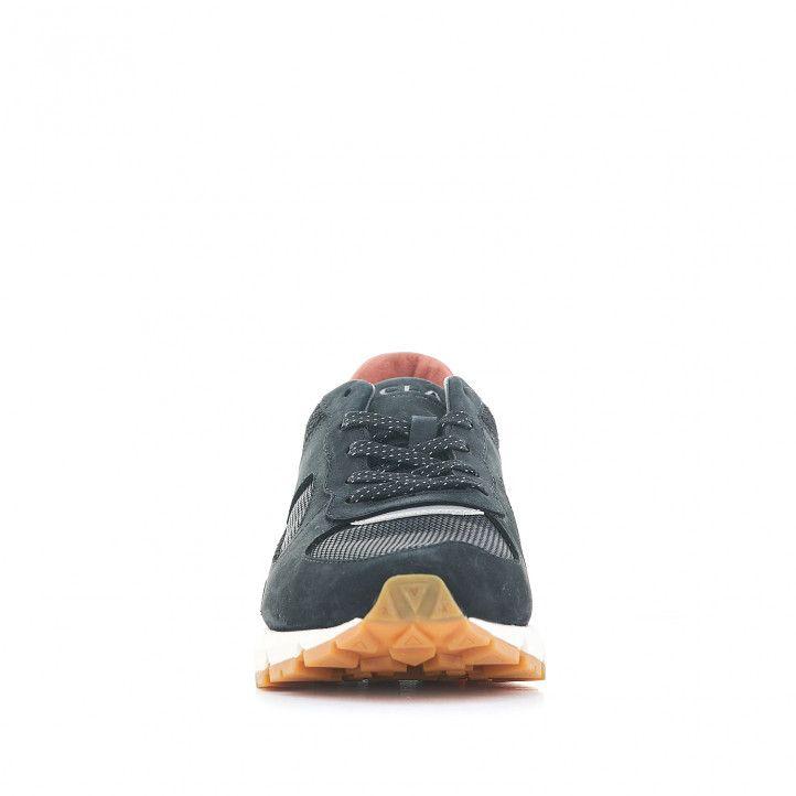 Sabatilles esportives CLAE negres amb interior salmó - Querol online