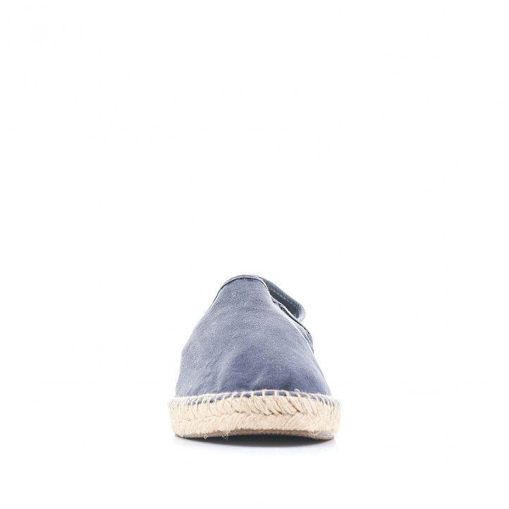 Espardenyes NATURAL WORLD blaves amb sola d'espart - Querol online
