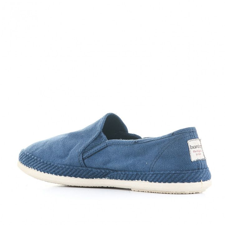 Espardenyes Bamba blaves amb sola blava - Querol online