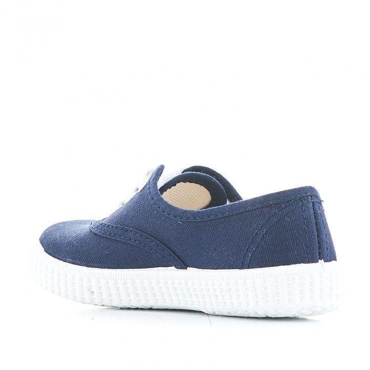 Zapatillas lona QUETS! azules - Querol online