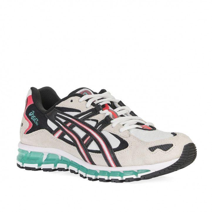 Zapatillas deportivas Asics Gel-Kayano 5 360 blanca y crema - Querol online