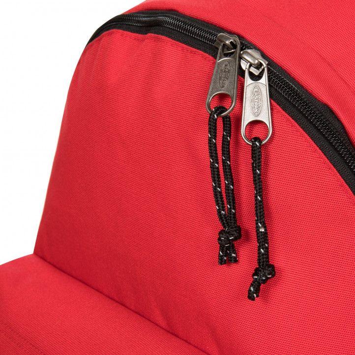 Mochila Eastpak roja con tiras negras - Querol online
