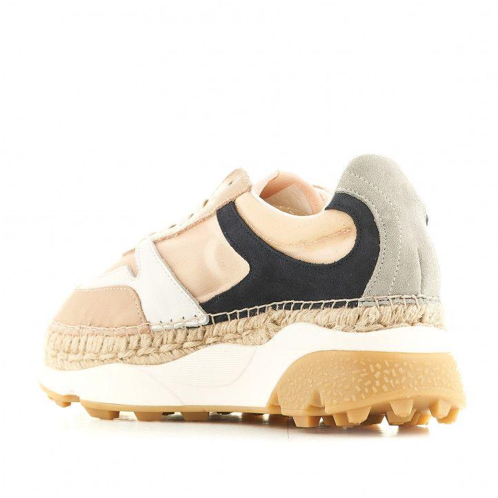 Zapatillas deportivas Macarena Chunky con plataforma y combinación de colores - Querol online