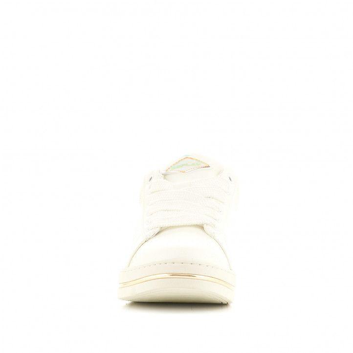 Sabatilles esportives Replay blanques amb part posterior animal print - Querol online