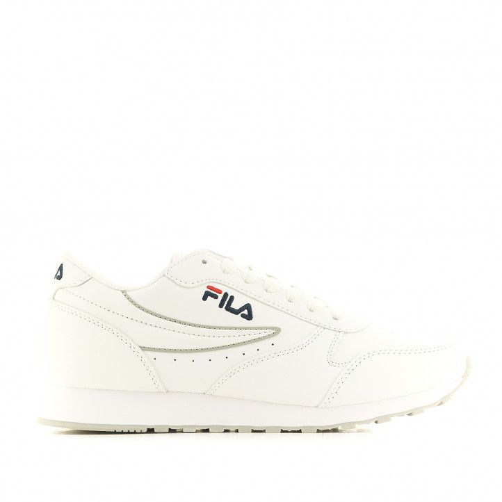 Zapatillas deportivas Fila ORBIT LOW Mujer WHITE 1010308.1FG - Querol online