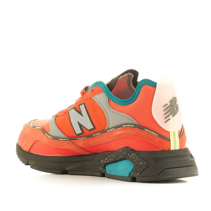 Sabatilles esportives New Balance X-Racer, Neo Flame with Team Teal & Black - Querol online