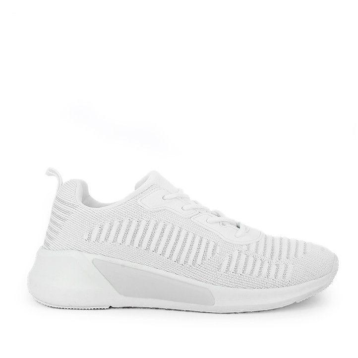 Zapatillas deportivas Owel de color blanca - Querol online