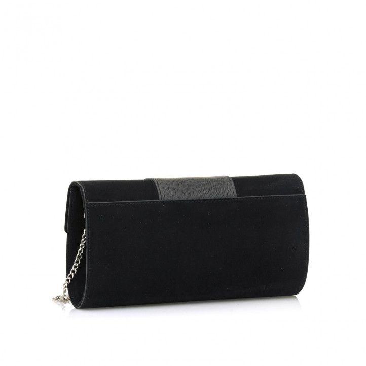 bosses Maria Mare de mà rectangular en color negre - Querol online
