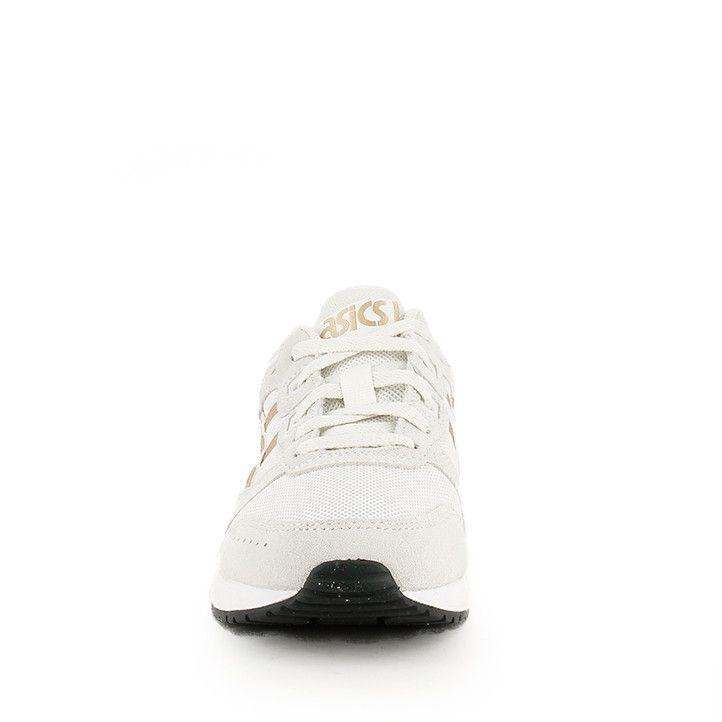 Zapatillas deportivas Asics LYTE CLASSIC beiges con logo en color caramelo - Querol online