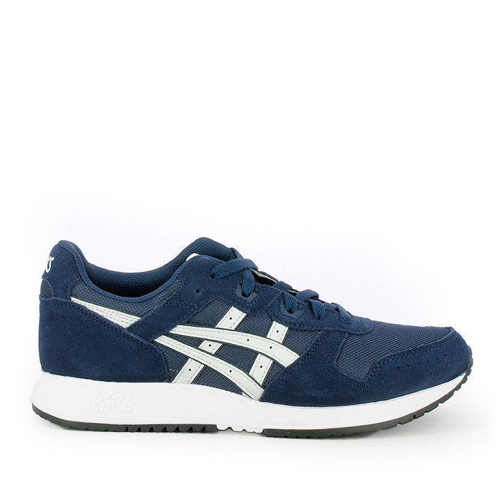 Zapatillas deportivas Asics LYTE CLASSIC azules con logo en blanco - Querol online