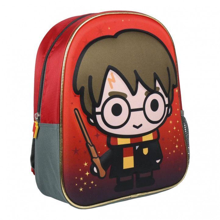 Mochilas Cerda roja de Harry Potter con bolsillo lateral - Querol online