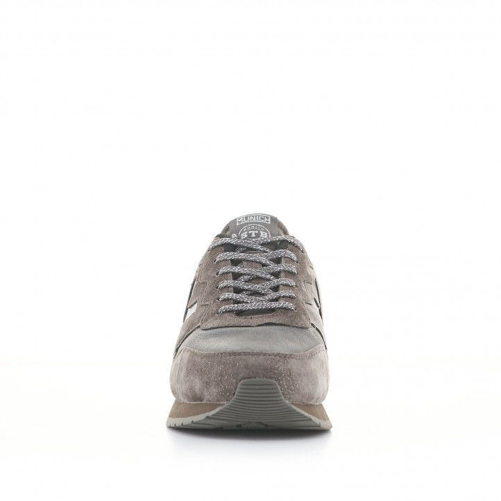 Zapatillas deportivas Munich dash woman 78 grises - Querol online
