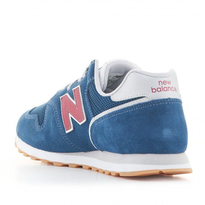 Zapatillas deportivas New Balance 373 azules con cordones - Querol online