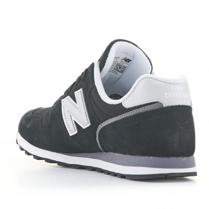 diluido Boda Transparente  Zapatillas deportivas 373 negras con cordones New Balance | Querol online