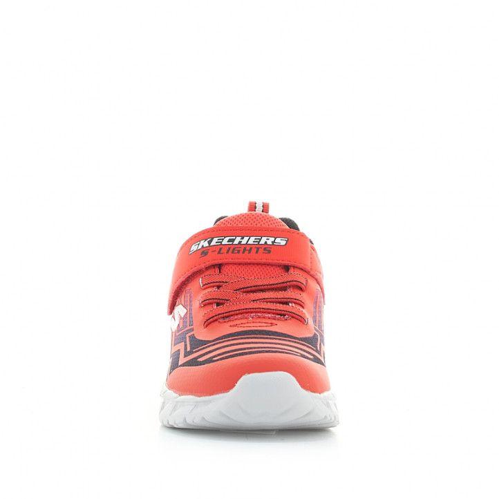 Sabatilles esport Skechers vermelles magna-lights amb llums - Querol online