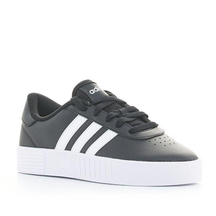 Zapatillas deportivas Adidas negras court bold con plataforma - Querol online